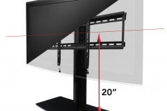 TV-Stand-With-Mount-TV-Swivel-Stand